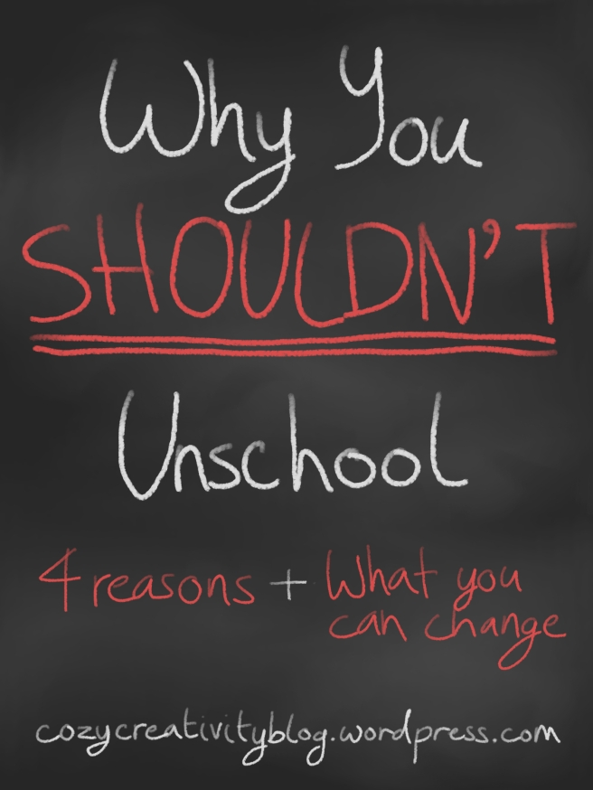 Why You Shouldn't Unschool