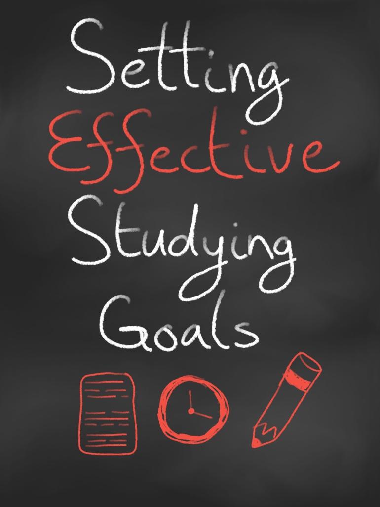 Setting Effective Studying Goals - cozyrebekah.wordpress.com