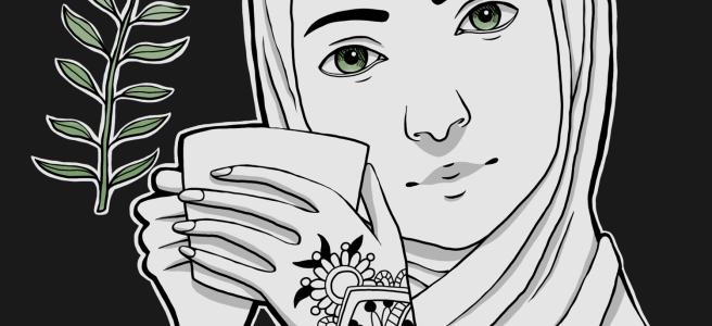 Inktober Day 4 - Henna by Cozy Rebekah