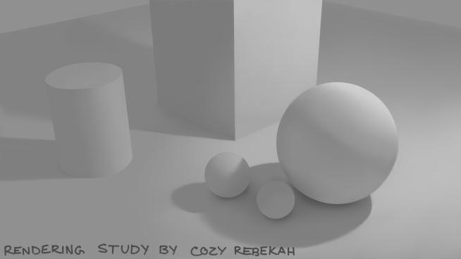 Week 1 Rendering Assignment by Cozy Rebekah