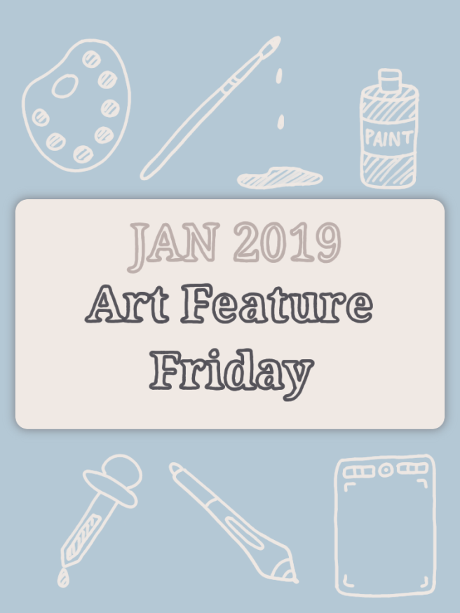 Art Feature Friday (Jan 2019) by Cozy Rebekah