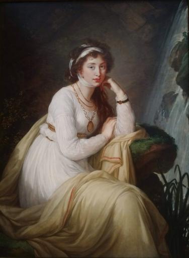 Princess Anna Ivanonva Bariatinski by Élisabeth Louise Vigée Lebrun