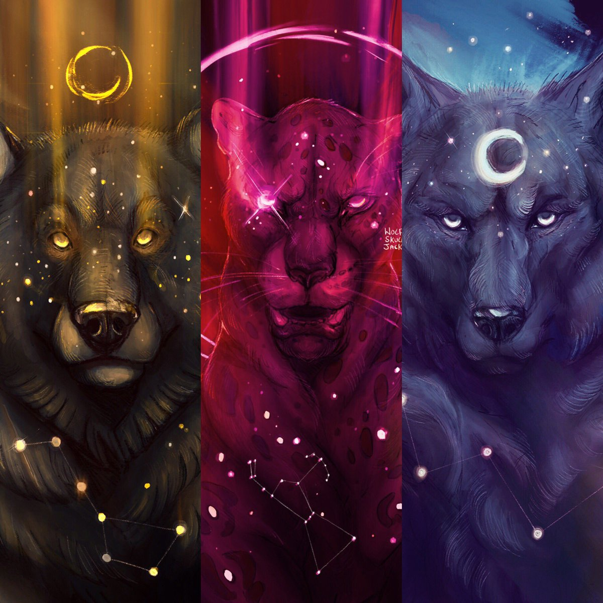 The Star Gods by WolfSkullJack