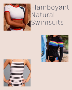 Flamboyant Natural Swimsuits