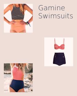 Gamine Swimsuits