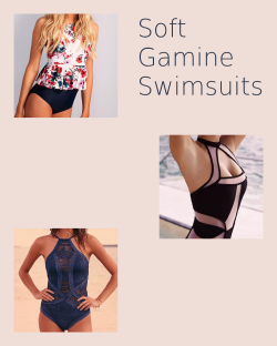 Soft Gamine Swimsuits