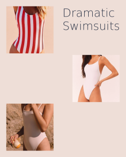 Dramatic Swimsuits