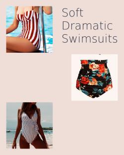 Soft Dramatic Swimsuits