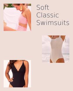 Soft Classic Swimsuits