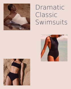 Dramatic Classic Swimsuits
