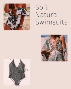 Soft Natural Swimsuits