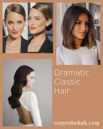 Dramatic Classic Hair