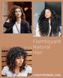 Flamboyant Natural Hair