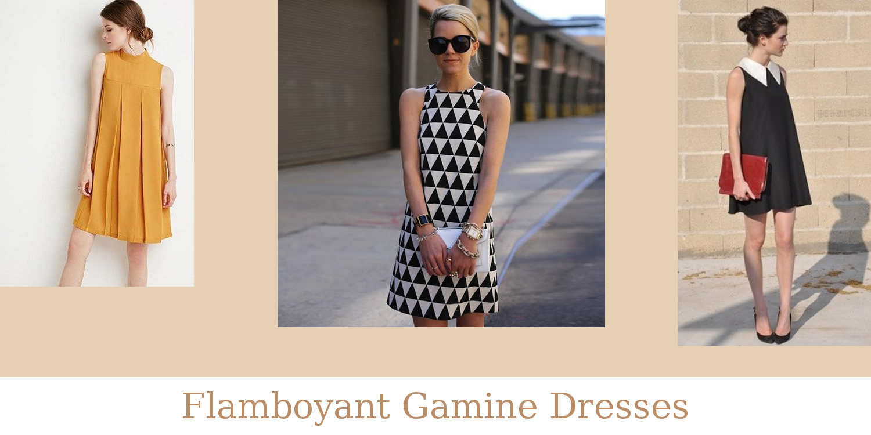 Flamboyant Gamine Dresses