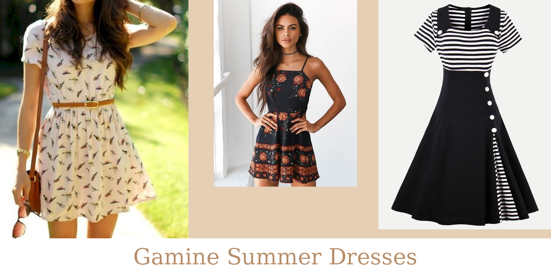 Gamine Summer Dresses