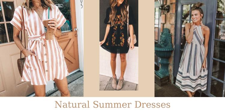 Natural Summer Dresses