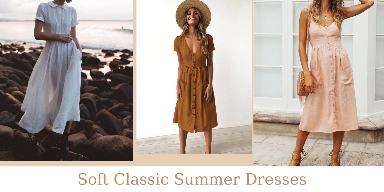 Soft Classic Summer Dresses