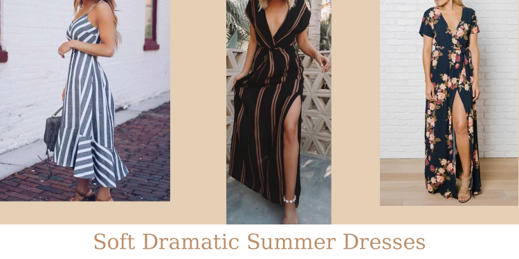 Soft Dramatic Summer Dresses