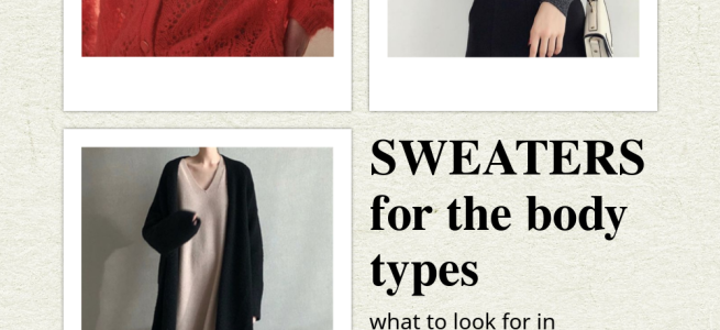 Sweaters for the Body Types - cozyrebekah.com
