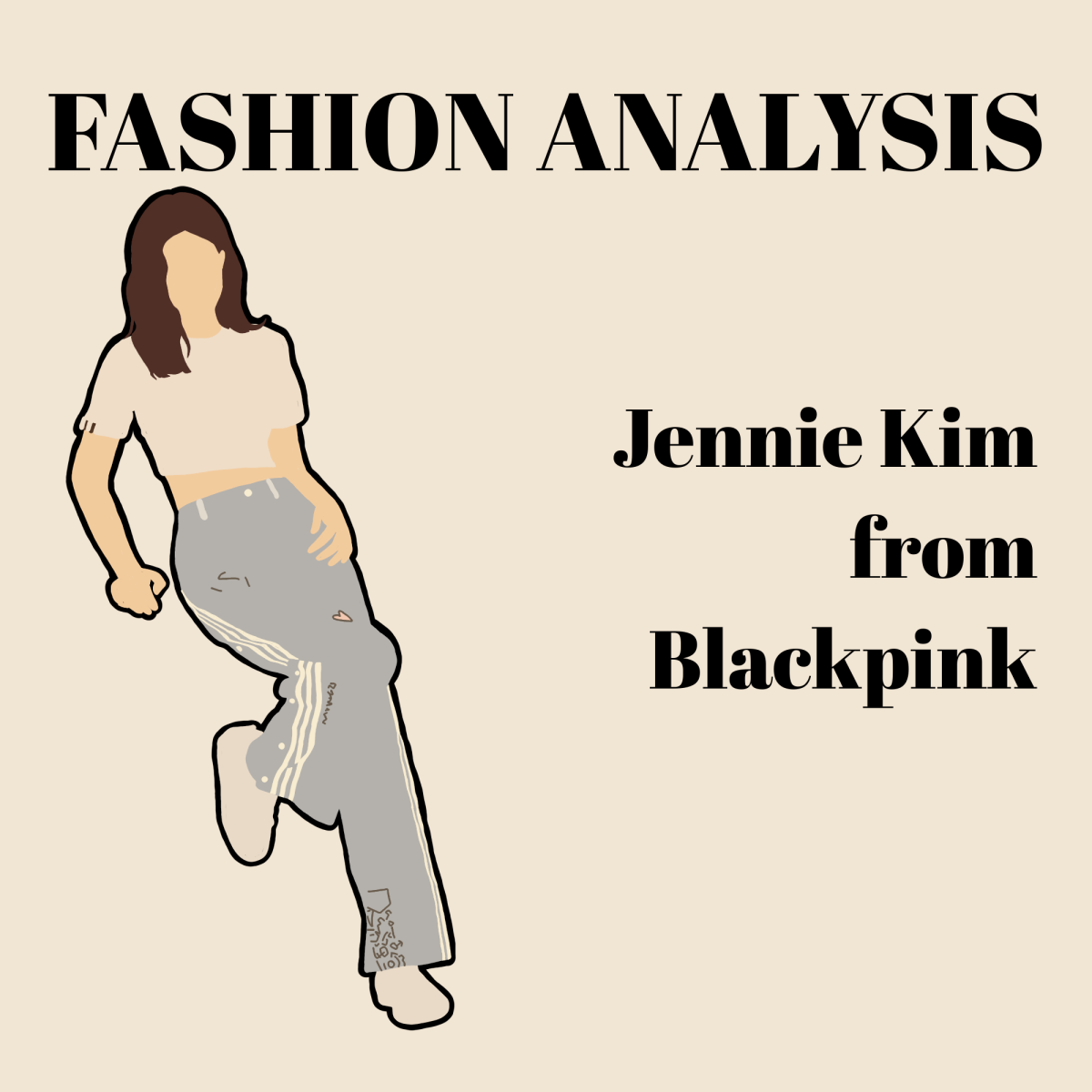 A drawing of Jennie